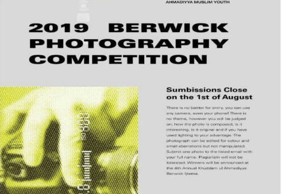 Photography Competition Berwick